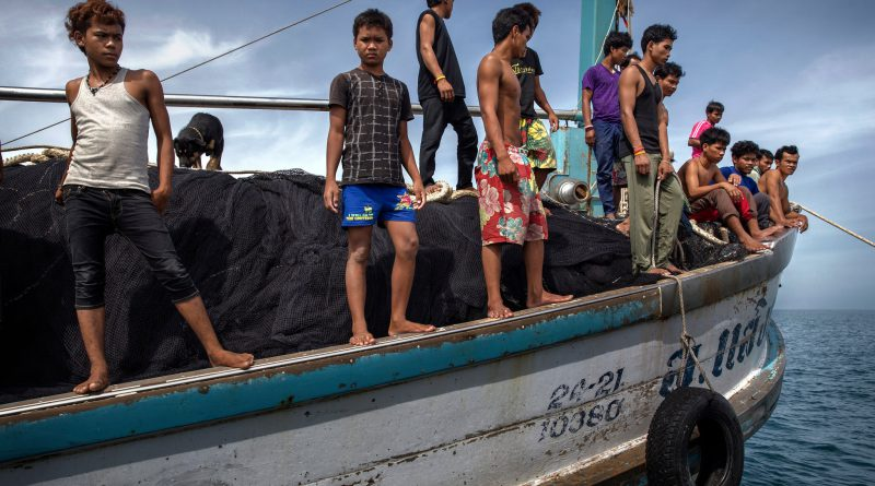 The Crime of Modern Day Slavery on the High Seas